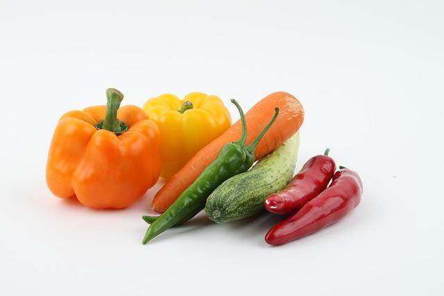 barevná zelenina
