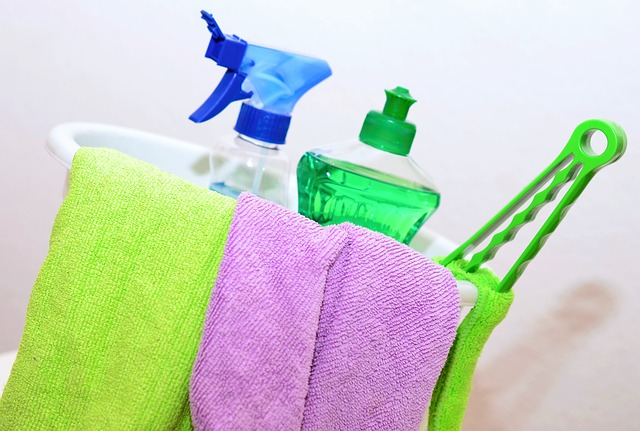 potřeby pro úklid