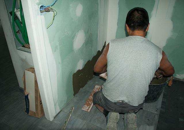 zedník při rekonstrukci