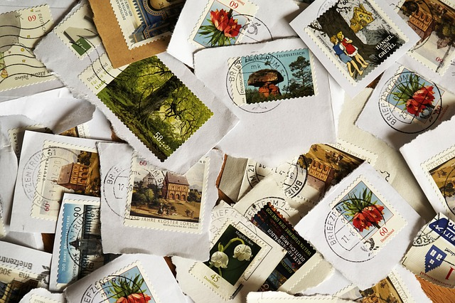 použité známky